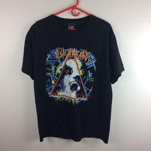 Giant Def Leppard Hysteria Band T-shirt Size L